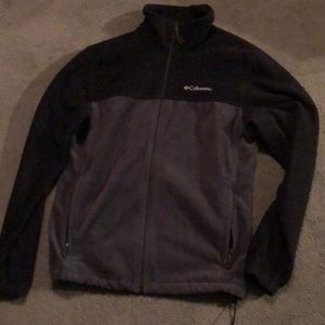 Columbia Mens zip up fleece jacket size M